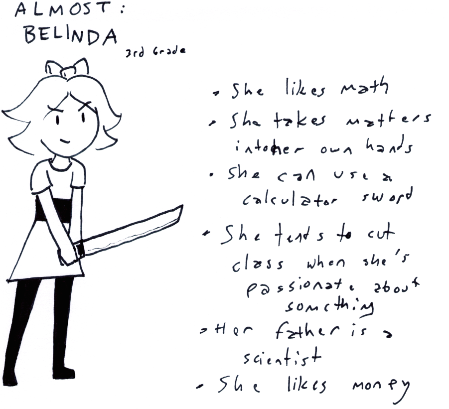 Almost: Belinda