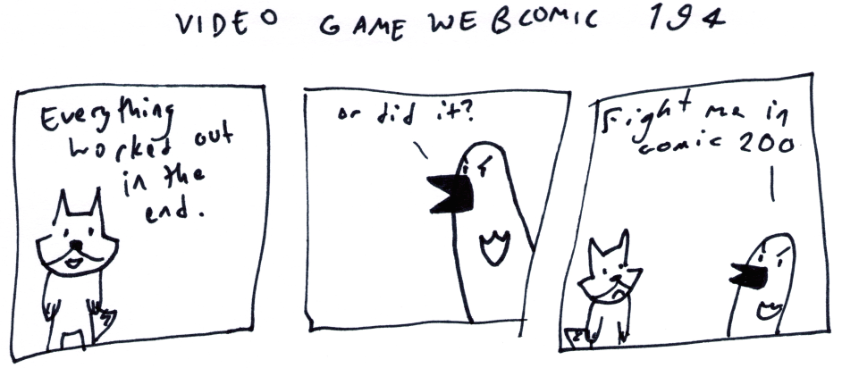 Video Game Webcomic 194