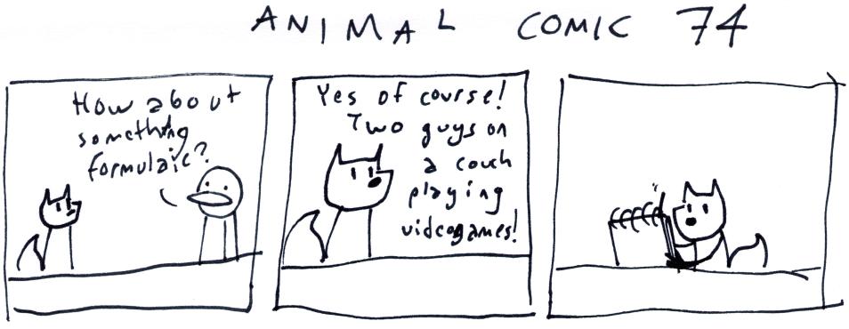 Animal Comic 74