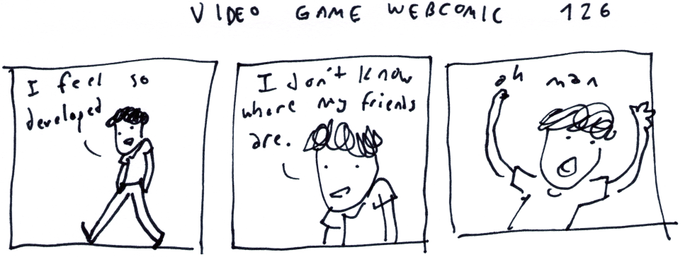 Video Game Webcomic 126