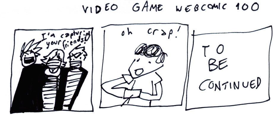 Video Game Webcomic 100