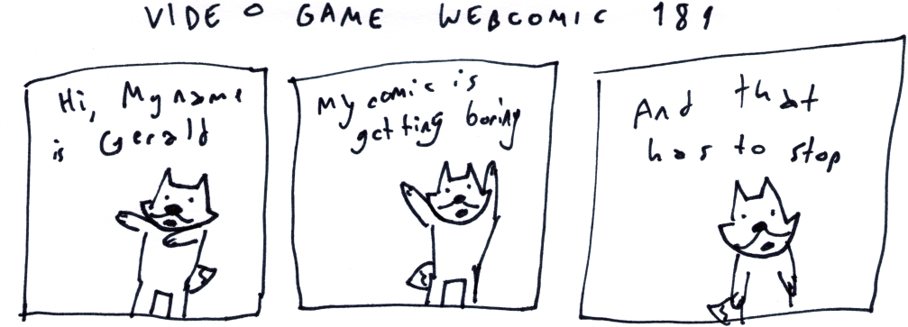 Video Game Webcomic 181