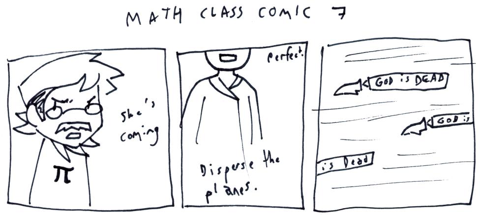 Math Class Comic 7