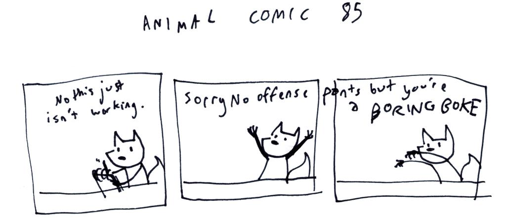 Animal Comic 85