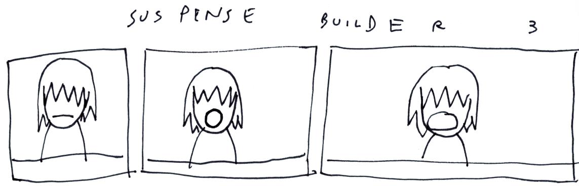Sus pense Builde  r       3