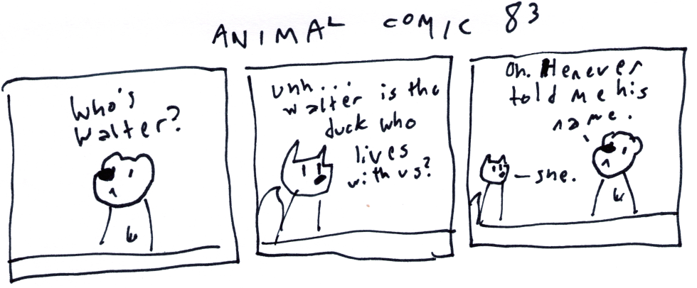 Animal Comic 83
