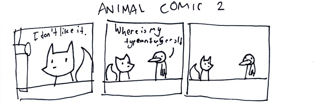 Animal Comic 2