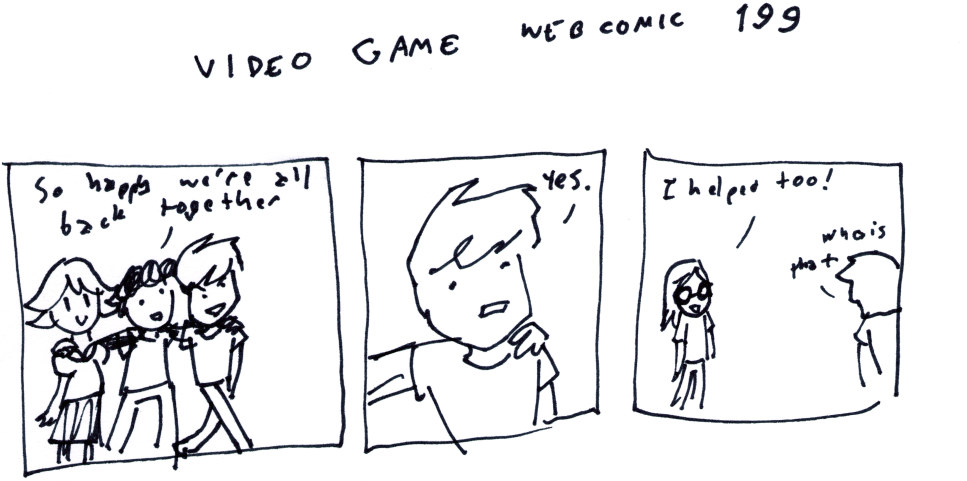 Video Game Webcomic 199