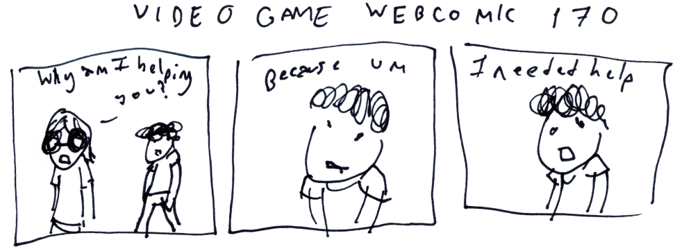 Video Game Webcomic 170