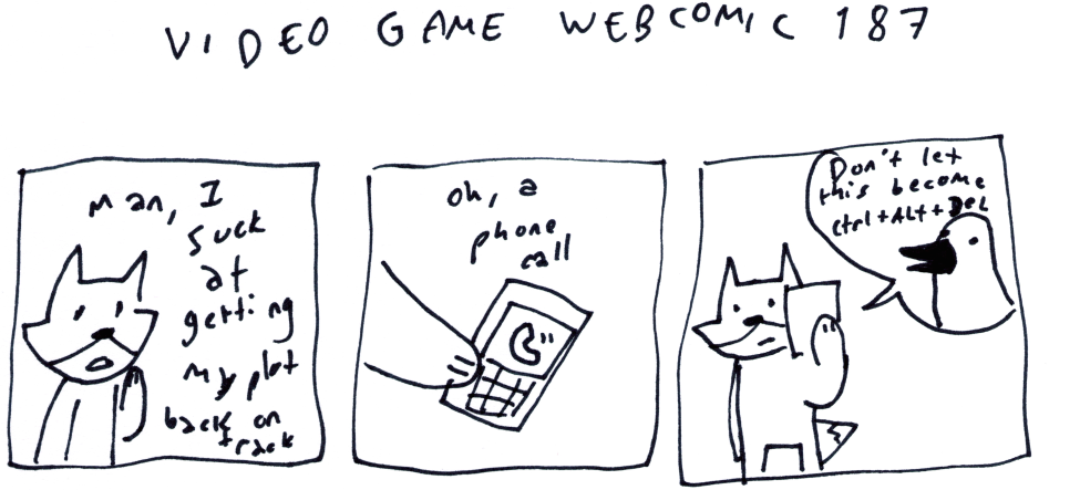 Video Game Webcomic 187
