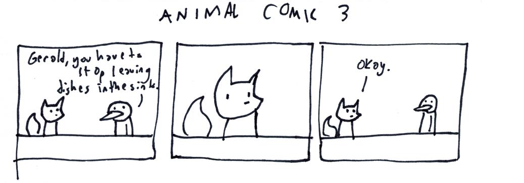 Animal Comic 3