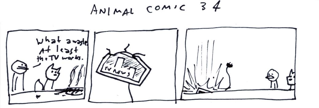 Animal Comic 34