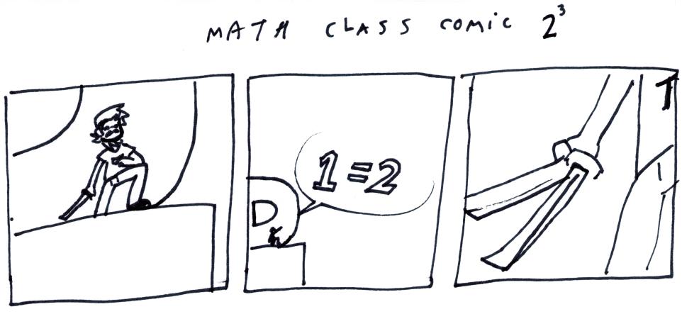 Math Class Comic 2³